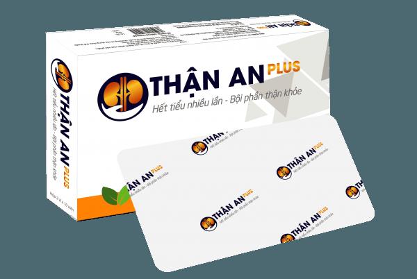 Thông tin sản phẩm Thận An Plus- giúp bổ thận, giảm tiểu đêm, tiểu ngày nhiều lần, phòng ngừa suy thận