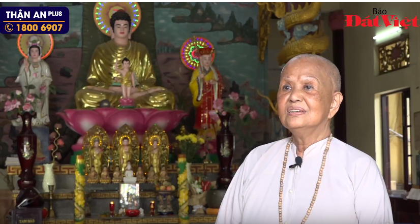"""Sư Bà trụ trì chùa Lá An Nhiên: """"Chỉ 5 ngày, chứng tiểu đêm của cô đã giảm được sáu chục phần trăm (60%)"""""""